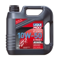Моторное масло LIQUI MOLY Racing Synth 4T 10W50, 4л